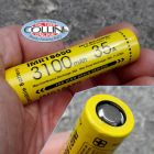 Nitecore Nitecore - IMR18650 - Batteria ricaricabile 3.6V per CI7, MH23 - 35A - 3100mAh