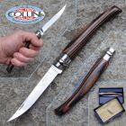 Opinel Opinel - n.10 Effilé - Betulla Lamellato Marrone Nero - lama inox - coltello