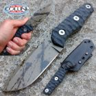 WanderTactical Wander Tactical - Scrambler - Black Blood & Black Micarta - coltello custom