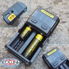 Nitecore Nitecore - SC2 - Caricabatterie Universale Ultrarapido - per Ni-MH, Li-ion e IMR - AA, AAA, 14500, 18650, 26650 ed RCR123A