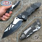 Guardian Tactical Guardian Tactical Usa - Deltrix Nano - Carbon Fiber Two Tone Black - 72211 - coltello