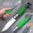 Opinel Opinel - N° 12 Explore - Green - coltello da escursionismo