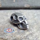 No Brand Schmuckatelli - Ciondolo Fermafilo - Flat Skull Bead - Orizzontale - Gadget