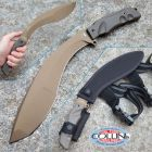 Firefox Battery Fox - Trakker - Extreme Tactical Kukri - Bronze Coating - FX-9CM05BT - coltello