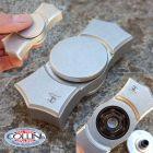 No Brand Simone Tonolli - Fidget Spinner Artigianale in Alluminio - Gadget