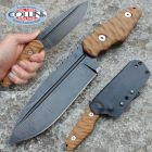 WanderTactical Wander Tactical - Freedom - Raw & Brown Micarta - coltello custom