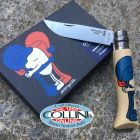 Opinel Opinel - Edition France by Jeremyville 002156 - n.8 inox - coltello