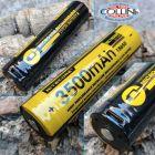 Nitecore Nitecore - NL1835R MicroUSB - Batteria ricaricabile protetta Li-Ion 18650 3.6V 3500mAh per P10 V2, P20 V2