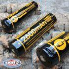 Nitecore Nitecore - NL1826R MicroUSB - Batteria ricaricabile protetta Li-Ion 18650 3.6V 2600mAh per P10 V2, P20 V2, DL10, LR12