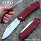 Benchmade Benchmade - 318-1 Proper Slipjoint Clip Point - Red G10 - coltello
