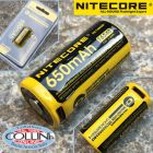Nitecore Nitecore - NL1665R MicroUSB - Batteria ricaricabile protetta Li-Ion CR123/16340 3.6V 650mAh