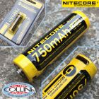 Nitecore Nitecore - NL1475R MicroUSB - Batteria ricaricabile protetta Li-Ion 14500 3.6V 750mAh