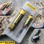 Nitecore Nitecore - Q2 White - Caricabatterie Universale - per Li-ion e IMR 18650, 18350, RCR123A, 26650 e 14500