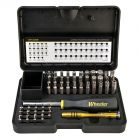 Wheeler Engineering Wheeler Engineering 55 Piece SAE/Metric Hex and Torx Screwdriver Set