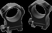 """Nightforce Nightforce Anelli Titanio 6 Viti - 1.125"""" High - 30mm - Ultralite"""