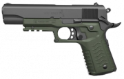 Recover Recover Grip & Rail System per 1911 - Olive Drab