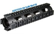 UTG UTG PRO AR308 2-PC Drop-in Mid Length Quad Rail for SW MP10