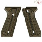 VZ Grips VZ Grips 92 Tactical Slants - Hyena Brown