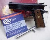 Colt GOLD CUP SERIE 80 NIB cal 45 HP + 45 ACP