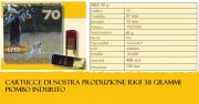 RK8 38 g. CFM Munizionamento Finco
